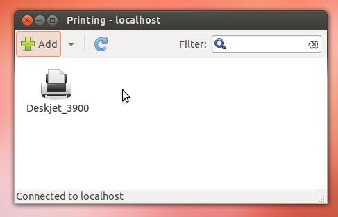 Printers in Ubuntu
